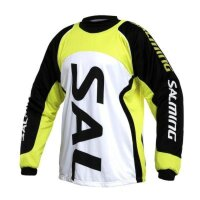 Свитер вратаря SALMING CROSS POLO WHT/YELL