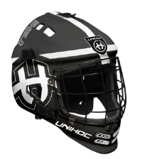 Шлем вратаря UNIHOC Shield JR black/white