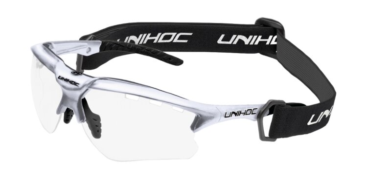 Очки UNIHOC X-RAY senior silver/black