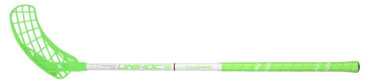 Клюшка UNIHOC EPIC Youngster 36 neon green/wh 75cm R