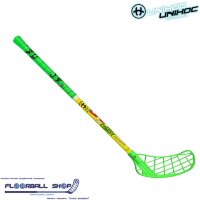 Клюшка UNIHOC CAVITY Youngster 36 neon green 65cm R