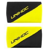 Напульсник UNIHOC Division black/neon yellow