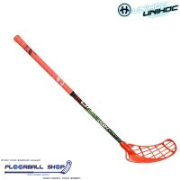 Клюшка UNIHOC CAVITY Youngster 36 coral 75cm R