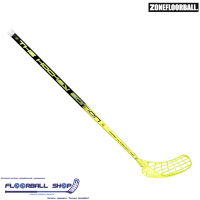 Клюшка ZONE HYPER Hockey UL 27 black/yellow 100cm L