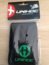 Напульсник UNIHOC Game black/green