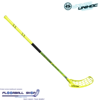 Клюшка UNIHOC EPIC Super Top Light 26 neon yellow/black 100cm L