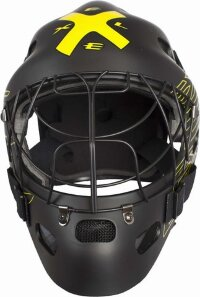 Шлем вратаря EXEL G1 HELMET BLACK/YELLOW SR